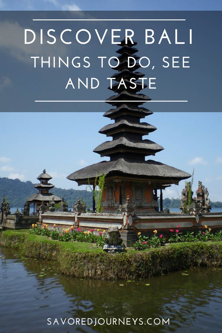 Discover the many things to do, eat and eat in Bali, Indonesia