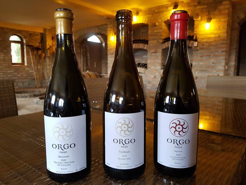 Orgo wines