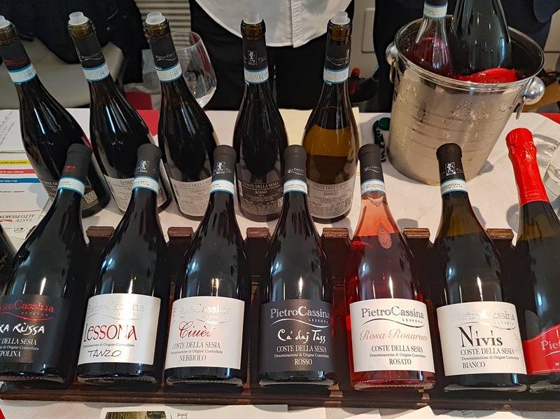 Pietro Cassina wines