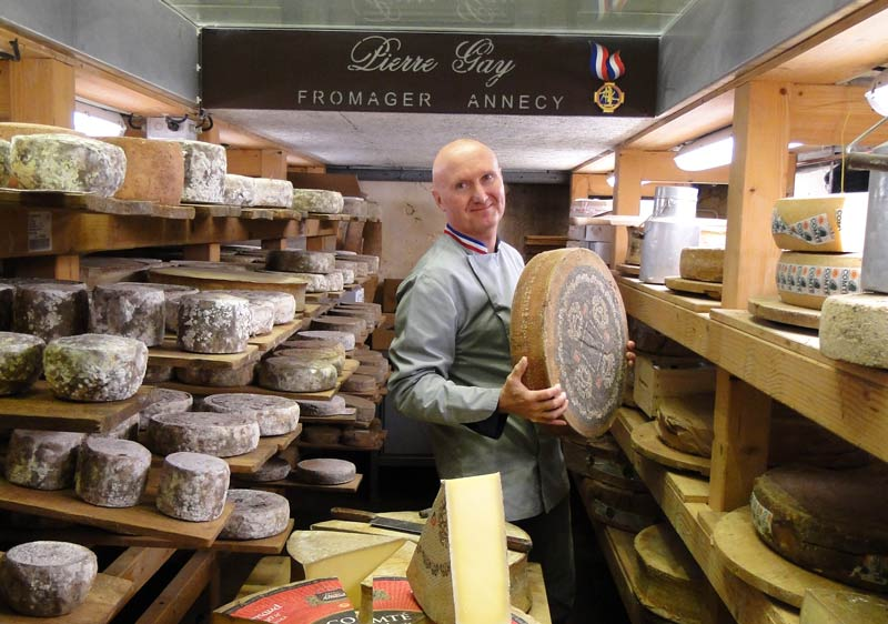 The cheese cellar of Pierre Gay