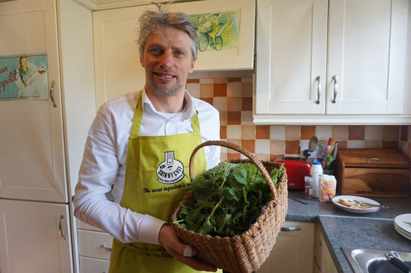 Foraging with a chef