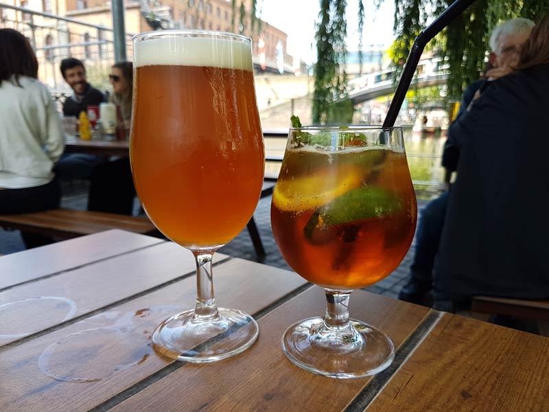 Beer & Pimm's Cup