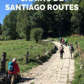 For a different kind of walking holiday, choose one of the popular Camino de Santiago routes.