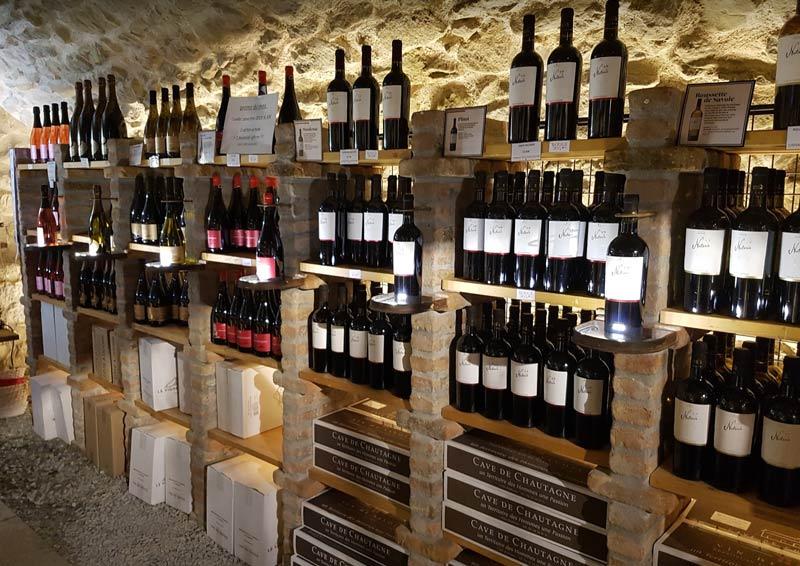 Cave de Chautagne's wine shop