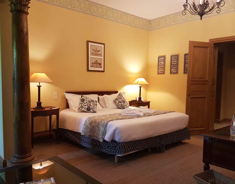 Prestige room at Chateau de Candie