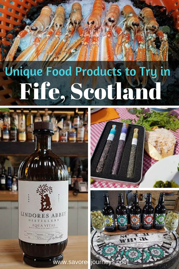 Unique food products to try in Fife, Scotland