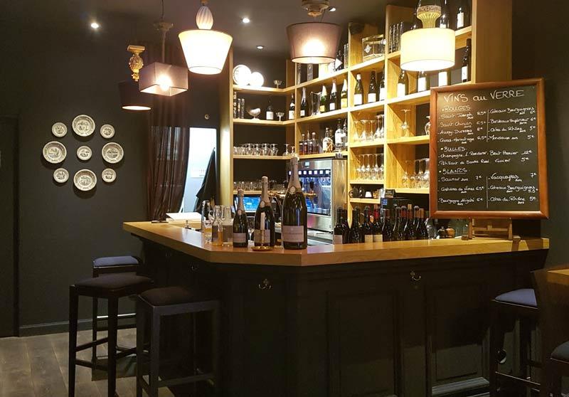 Le Salon Francais wine bar
