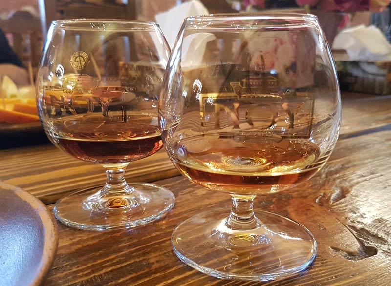 Noy Brandy tasting