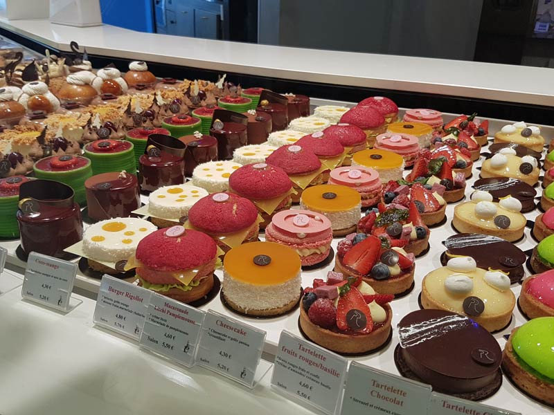 Pastries by Philippe Rigollot