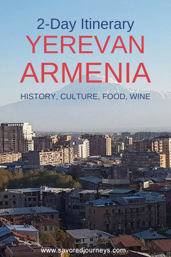 What to do in Yerevan Armenia in 2 days
