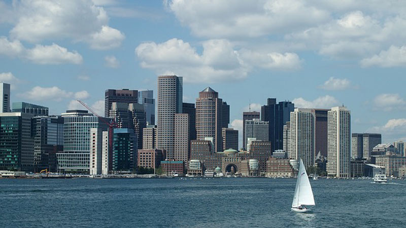 The Boston Waterfront