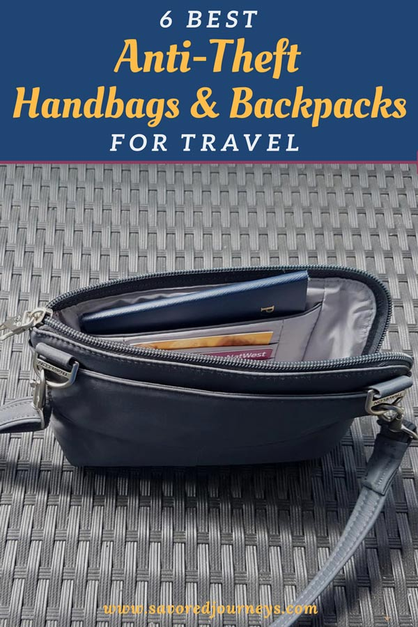 6 Best Anti-Theft Purses and Backpacks for Travel