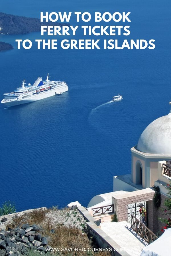 how to get to greek islands