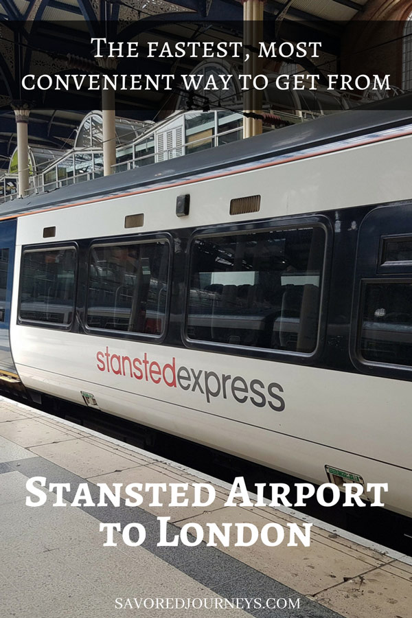 How to get from Stansted Airport to London on the Stansted Express