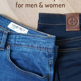 Aviator Jeans for men & women - the best travel jeans in the world