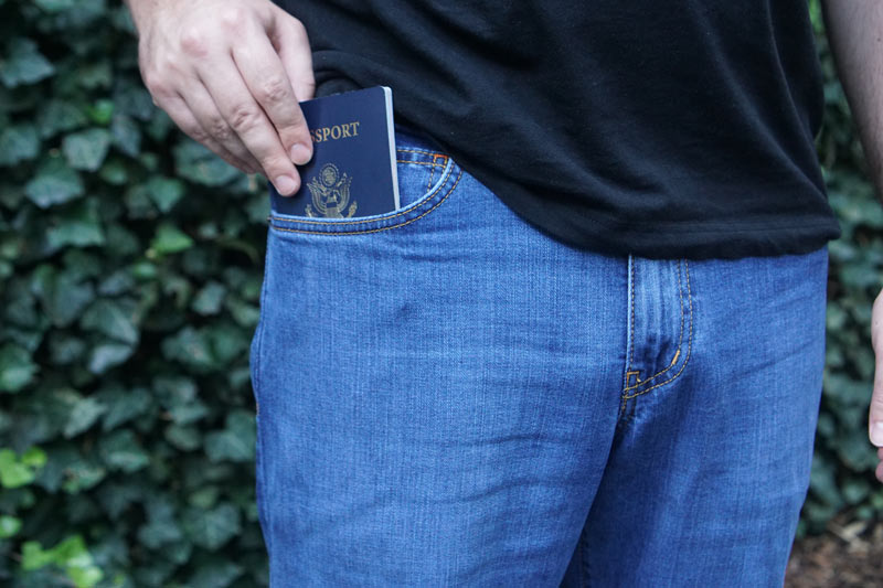 aviator jeans for travel
