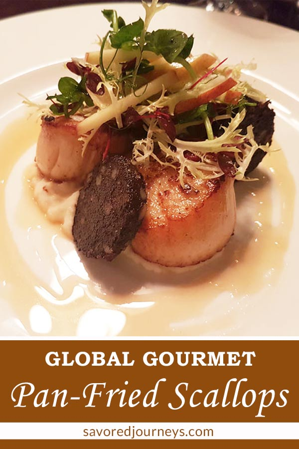How to make pan fried diver scallops - a gourmet dish from London, UK