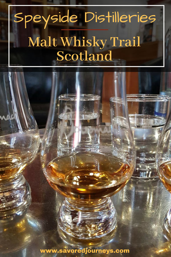 Speyside Distilleries on the Malt Whiskey Trail in Scotland