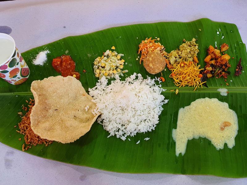 thali south india