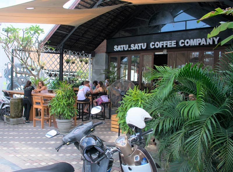 coffee shop in Bali