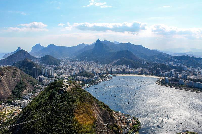 View of Rio de Janiero