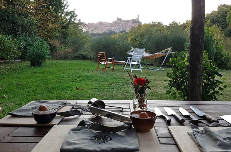 Cook Eat Discover's Italian cooking school homebase in Tuscany