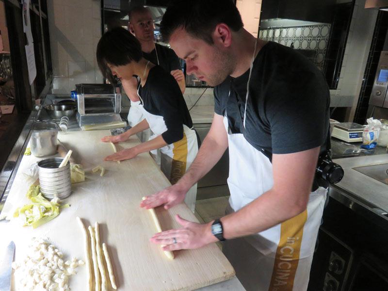 villa bordoni gnocchi making class