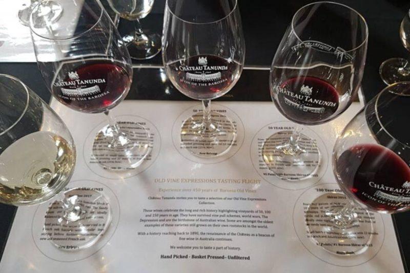 Barossa Valley Winery Wine Tasting