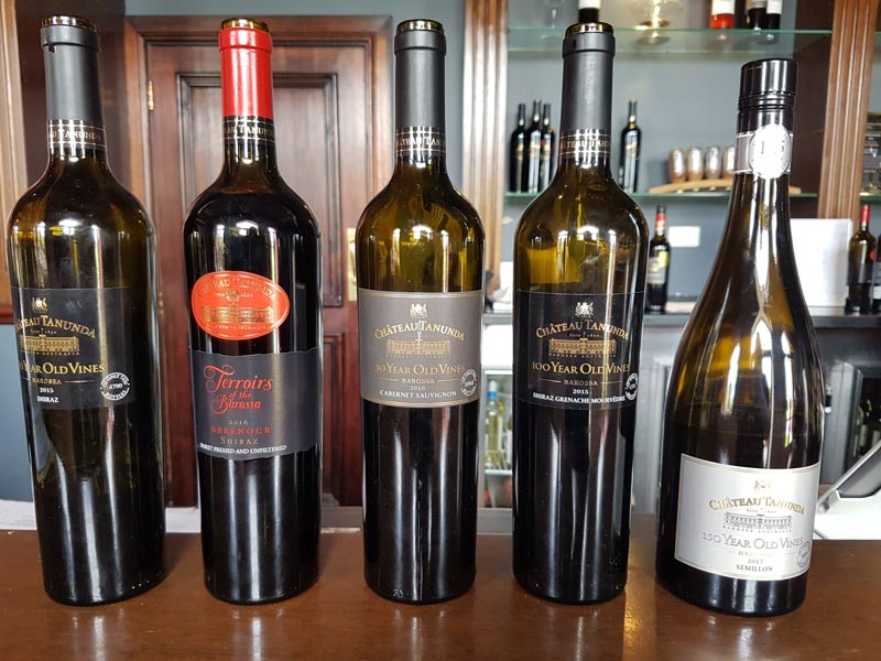 Chateau Tanunda Old Vine Expression wines