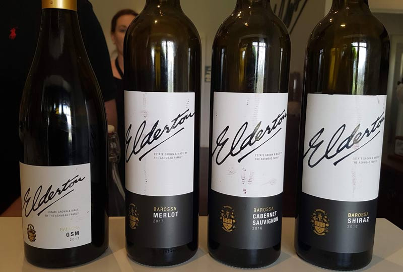 Elderton Barossa wine