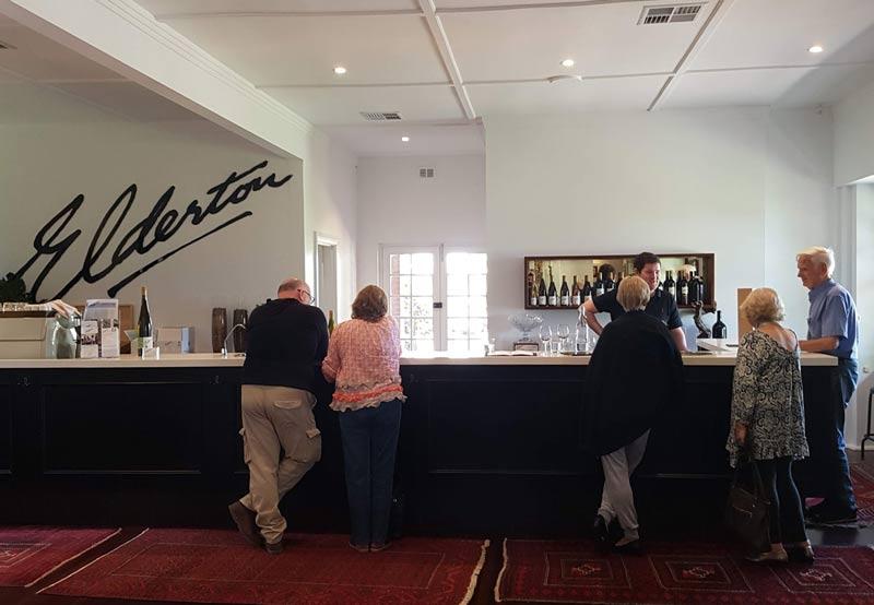 Elderton Wines tasting room
