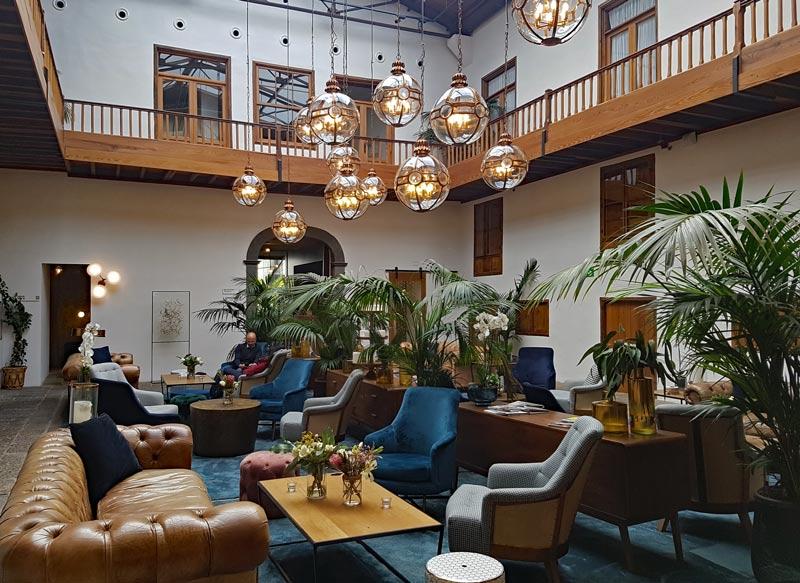 La Laguna Gran Hotel lobby