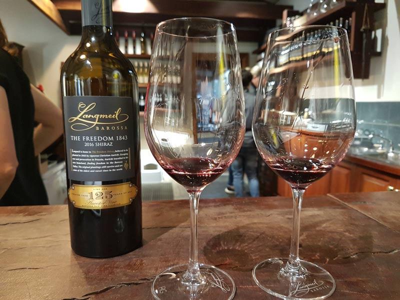 Langmeil wines