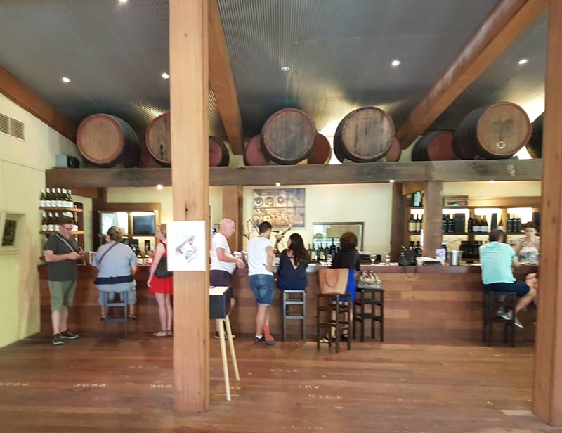 Yalumba tasting room