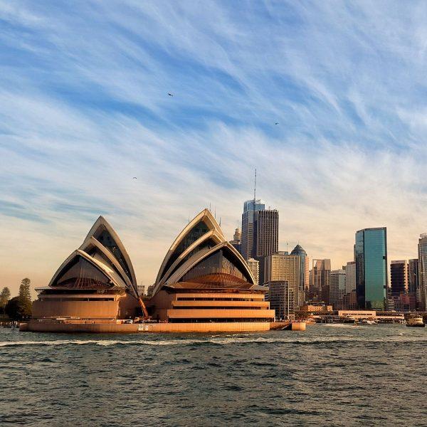 Sydney Harbor and Opera House