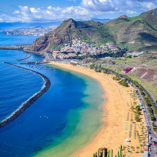 Tenerife Coastline View