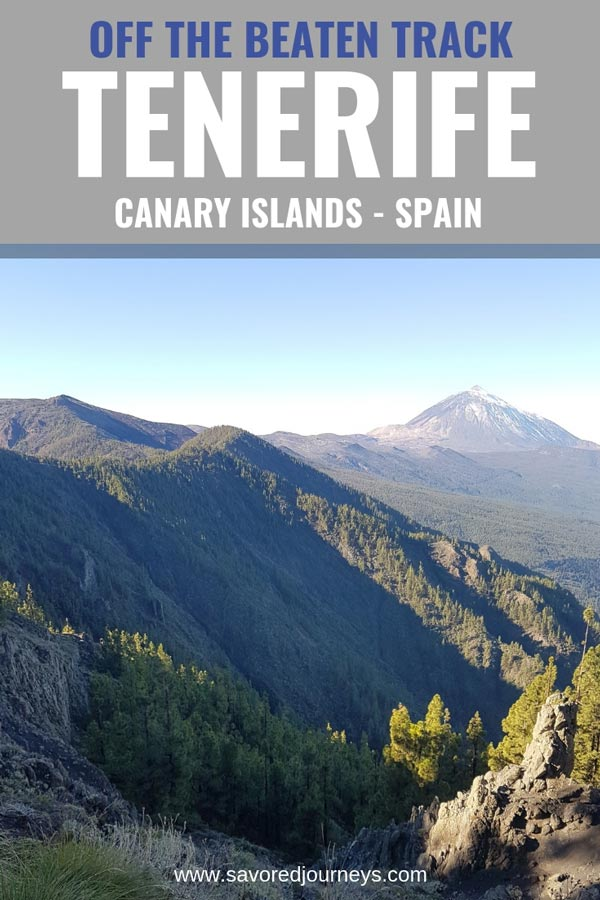 Explore Tenerife Off the Beaten Track to discover the real Tenerife (largest of the Canary Islands)