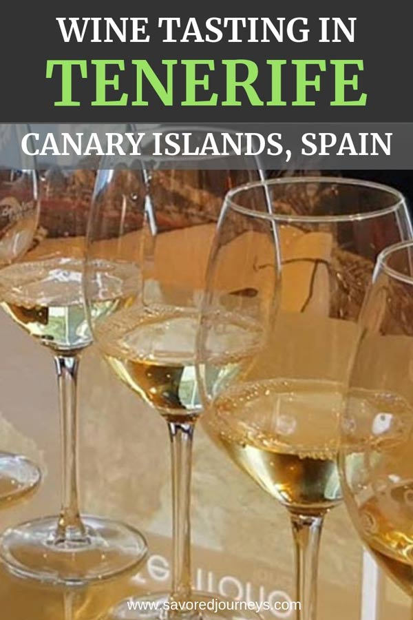 Wine tasting in Tenerife, in the Canary Islands of Spain