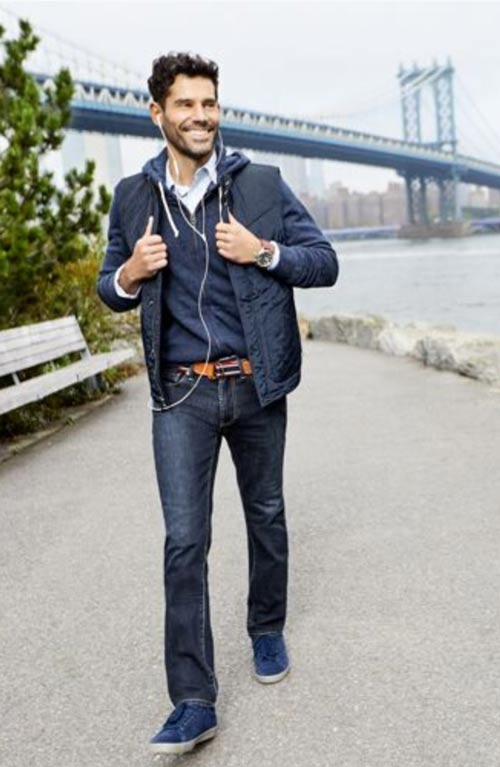 Bluffworks travel jeans