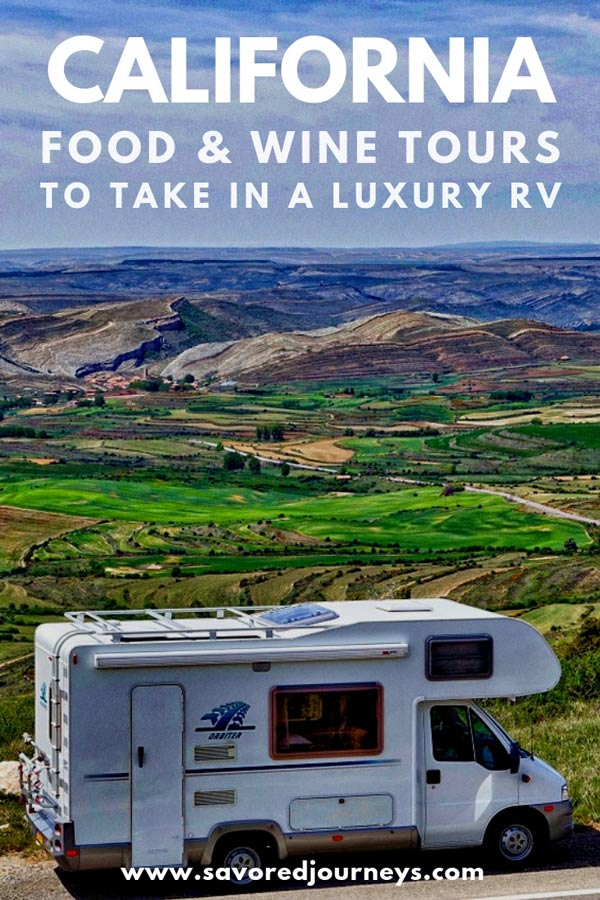 California wine tours to take in a luxury RV