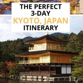 Kyoto 3-day itinerary
