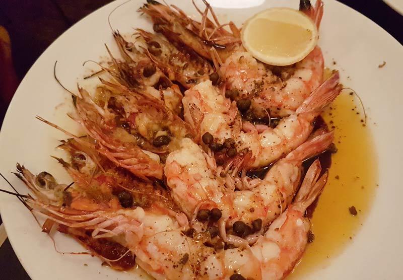 Shrimp at Ester