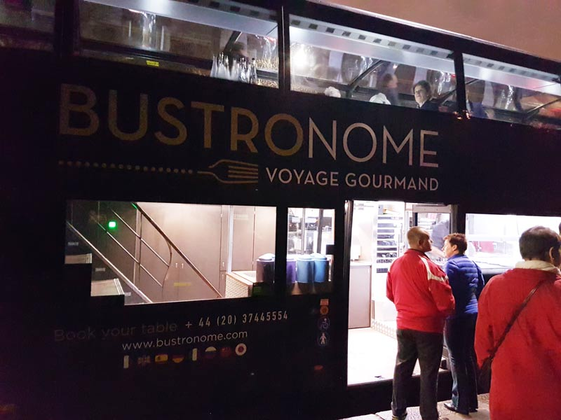 The Bustronome bus