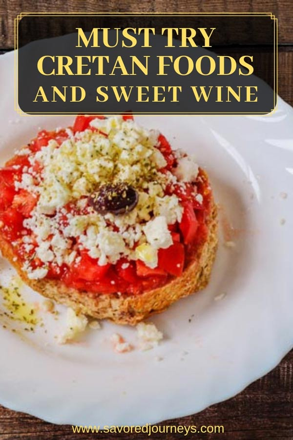 Cretan Cuisine and Sweet Wines You Must Try in Crete