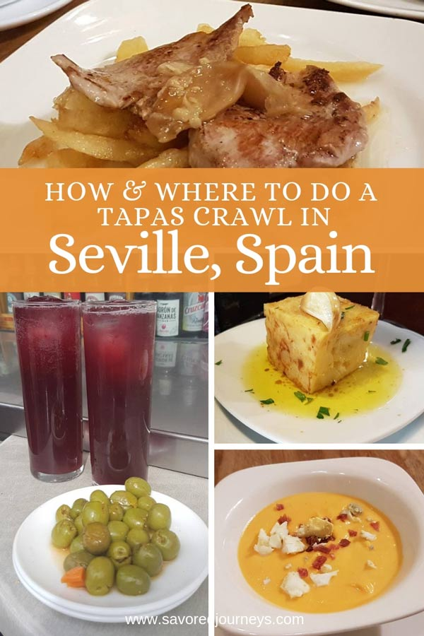 How & where to do a tapas crawl in Seville, Spain
