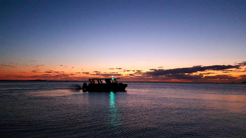 Sunset boat tours
