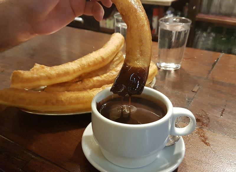 Churros and Chocolate