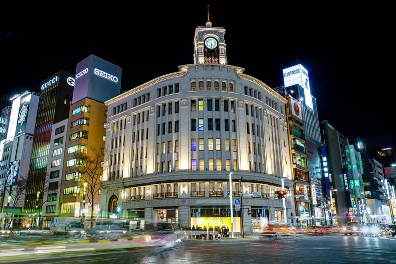 Ginza area