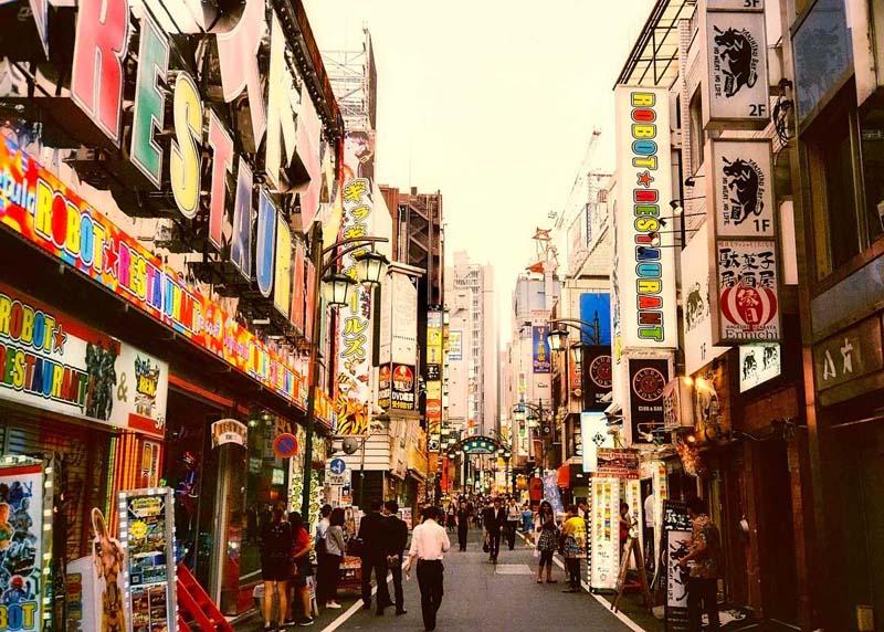 Shinjuku area