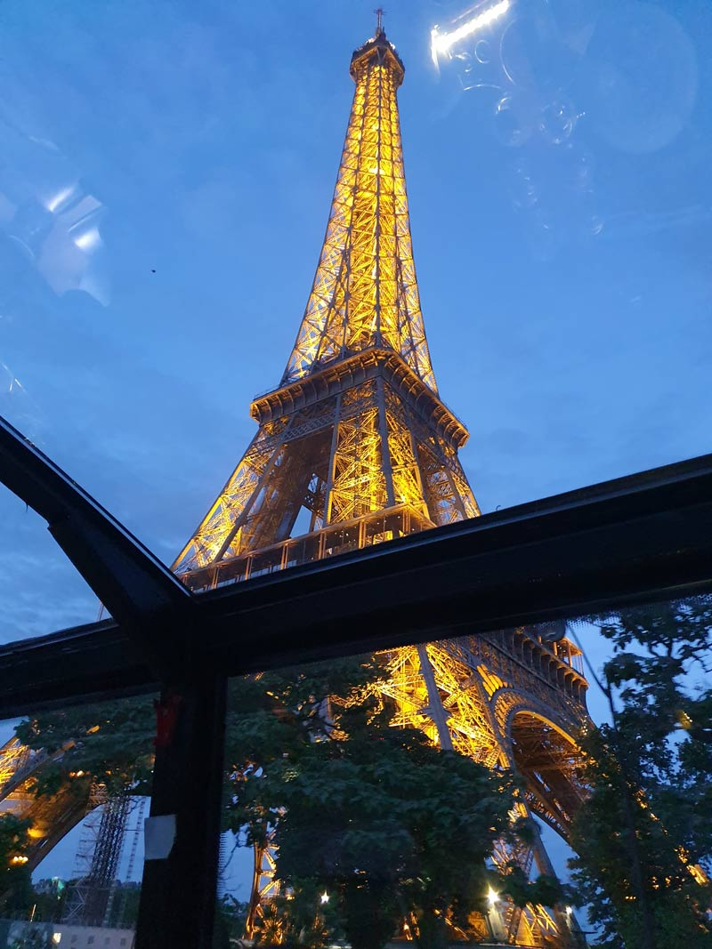 Eiffel Tower from Bustronome